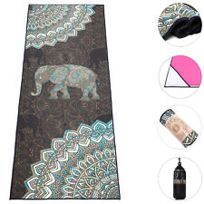 "Boence 100% Microfiber Print Fitness Hot Yoga Mat Towel Blanket Carpet - 72""x25"""