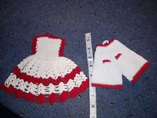 Vintage pot holders Shaped Like Dress And Bloomers