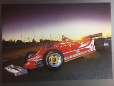1979 Ferrari 312 T4 Formula 1 Race Car Print Picture Poster RARE!! Awesome L@@K