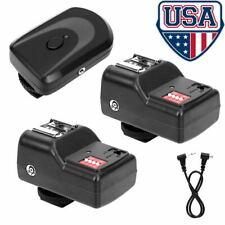 16 Channel Wireless Remote Flash Speedlite Trigger 1Transmitter + 2 Receiver