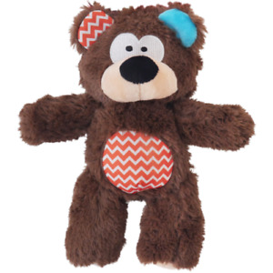 Rosewood Pets Tough Rope Core Bear For Dogs, Soft & Durable, For Tugging/Chewing