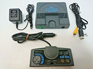NEC PC ENGINE CORE GRAFX  Console System Controller Japan Tested