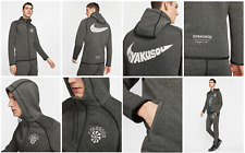 Nike x Gyakusou Knit Grey Jacket Hoodie Mens L