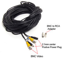 150ft BNC Video Power Cable DVR Surveillance CCTV Home Security Camera Cord Wire