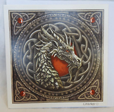 Lisa Parker Greetings Card - Celtic Dragon  - BNIB