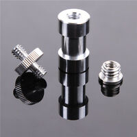"6-IN-1 1/4"" 3/8"" Screw & 5/8"" Spigot Convert Adapter for DSLR Tripod Light Stand"