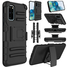 Mobile Cell Phone Case Holster Shockproof Rugged Cover Stand Clip Belt Hybrid