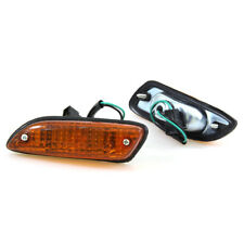 FIT DATSUN BLUEBIRD 510 1600 SSS COUPE 140J 160J AMBER SIDE MARKER LIGHT LAMP LR