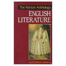 The Norton Anthology of English Literature : Sixth Ed. Vol. 1 (Paperback) NEW