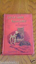 Little Lord Fauntleroy by Mrs F.HODSON BURNETT (Hardback) 1st edition 1886