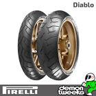 Pirelli Diablo 120/70 ZR17 (58W) & 160/60 ZR17 (69W) Motorcycle Bike Tyres