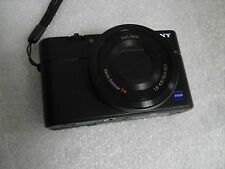 Very Nice Sony Cybershot DSC-RX100 II M2 20.2 MP Digital Camera - Black