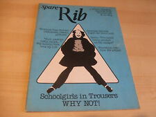Spare Rib Women's Liberation Feminist Magazine Number 89 December 1979