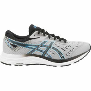 Asics GEL-EXCITE 6 GREY/ELECTRIC BLUE Mens Running Shoes 1011A165 Size 8