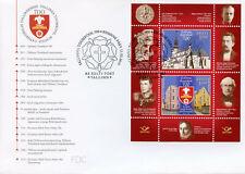 Estonia 2019 FDC Tallinn Cathedral School 2v M/S Cover Architecture Stamps
