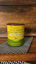 Vintage Genuine JOHN DEERE Imp. Paint Can PT 51 John Deere Yellow 1 Quart
