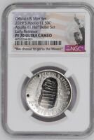 2019 S Apollo 11 50th Anniversary Set Half Dollar  NGC PF70  UC Early Release