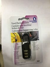 Helping Hand Travel & Backpack Luggage Suitcase Zipper Number Combination Lock