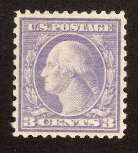 1919 US SC 541 3c Violet, Type II - George Washington - MNH XF
