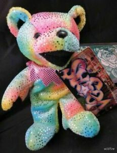 """GRATEFUL DEAD 7"""" BEAR Las VEGAS NEW LIMITED EDITION BACK STAGE PASS Jerry Garcia"""