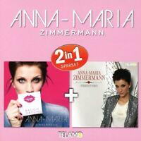 ANNA-MARIA ZIMMERMANN - 2 IN 1  2 CD NEW+