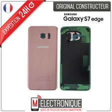 Vitre arrière Rose Original Samsung Galaxy S7 Edge G935