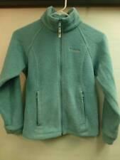 boys kids youth M 10-12 Columbia zip up Aqua Fleece jacket coat base warm soft