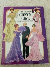 Dover Victorian Paper Dolls: Gibson Girl by Tom Tierney (1985, Print, Other)