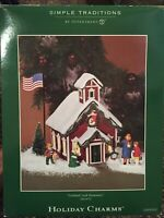 Department 56 Village Simple Traditions Holiday Charms Cortland Creek Elementary