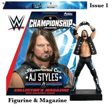 WWE Championship Figurine Collection: WWE AJ Styles Wrestling Figurine Issue 1