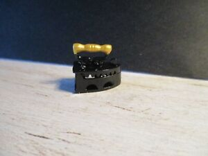 DOLLS HOUSE MINIATURE SMALL BLACK IRON 1/12 SCALE BBNV