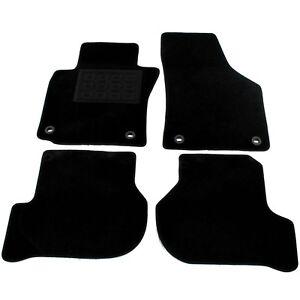 Velours Fußmatten für VW GOLF V 5 1K Automatten Stoffmatten Satz 4 Teilig NEU