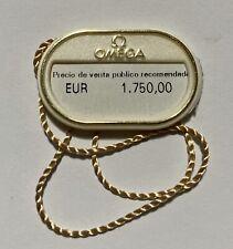 Hangtag 212.30.41.61.01.001 Stainless Steel Oem Omega Seamaster 300M Quartz Tag