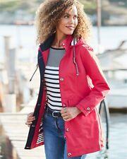 Cotton Traders - Coral Pink Waterproof Jacket Uk 10