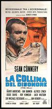 CINEMA-locandina LA COLLINA DEL DISONORE connery, andrews, banner, LUMET