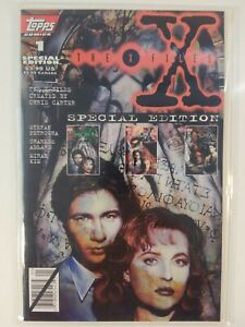 THE X-FILES - SPECIAL EDITION #1 (Vol. 1, 1995) Topps Comic Book - FN+