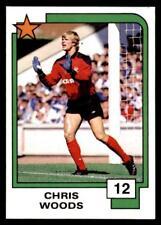 Panini Soccer Cards 1988 - Chris Woods # 12