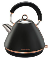 Morphy Richards Black Accents Traditional Pyramid Kettle - 102107