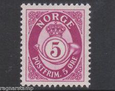 1937 NORWAY Posthorn  5 øre    NK 200  MNH