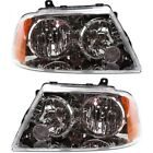 Headlight Set For 2004 2005 2006 Lincoln Navigator Left and Right With Bulb 2Pc