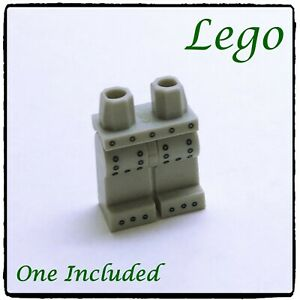 LEGO Minifigure Legs & Hips Complete, Robot, Rivets, Light Grey ~1 included~