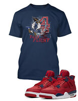 Take Flight Tee Shirt To Match AIR JORDAN 4 FIBA Shoe Graphic T Shirt Pro Club T