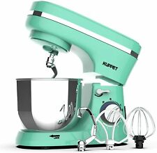 4.7QT Stand Mixers Tilt-Head Electiric with Dough Hook Wire Whip & Beater Green