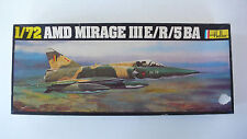 MAQUETTE KIT HELLER   AMD  MIRAGE III E/R/5 BA  1/72è  BOITE NOIRE