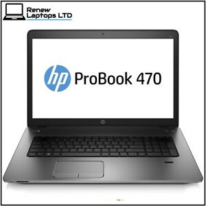 "HP ProBook 470 G2 17.3"" Laptop Core i5-4210U 8GB 256GB SSD Webcam AMD Radeon R5"