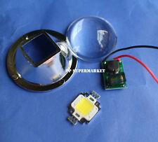 44mm led lens + 10w 12v led driver + 10w led chip for 10w led diy