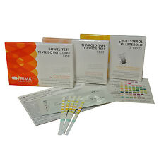 Complete Health Test Pack - Cholesterol+Bowel+Thyroid+Diabetes+Liver+Kidney+UTI