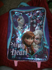 FROZEN ANNA , ELSA AND OLAF ROLLING BACKPACK / SUITCASE