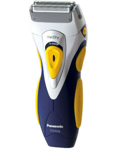 Panasonic 2-Blade Rechargeable Wet & Dry Shaver Silver ES4029