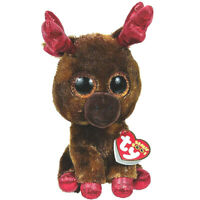 TY Beanie Boos MAPLE Moose Stuffed Plush Canada 150th Anniversary Exclusive MWMT